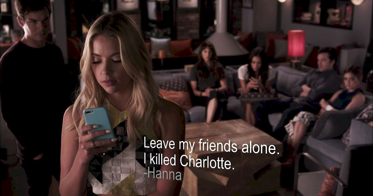 Pretty Little Liars - Your Official Recap For Episode 19: Did You Miss Me? - 1013
