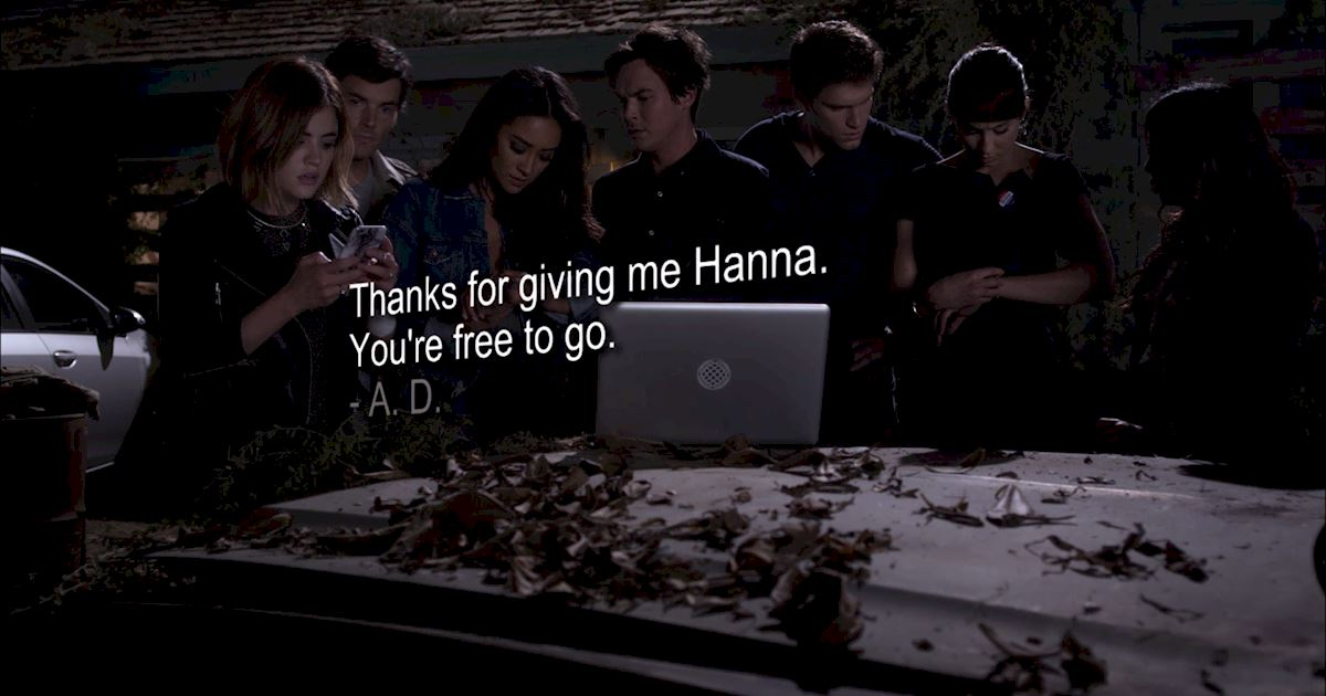 Pretty Little Liars - Your Official Finale Recap For Episode 20: Hush...Hush, Sweet Liars - 1028