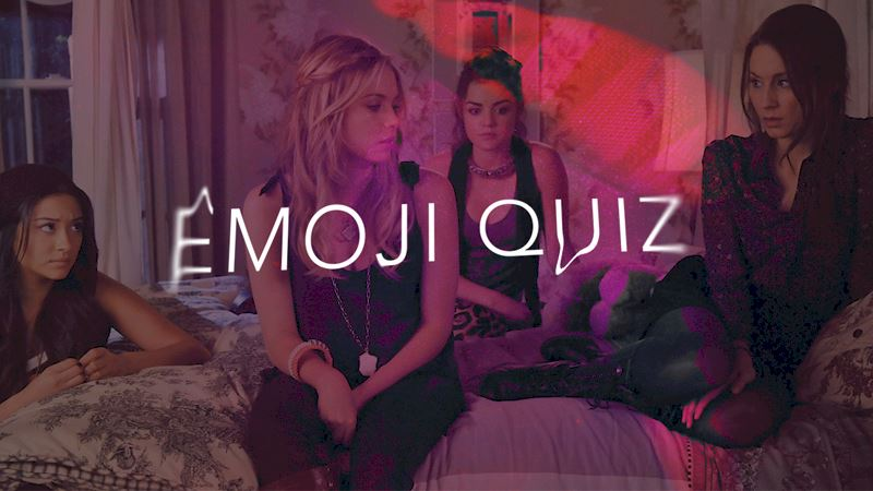 Pretty Little Liars - #FBF: Can You Guess The Season One Episode From The Emoji? - Thumb