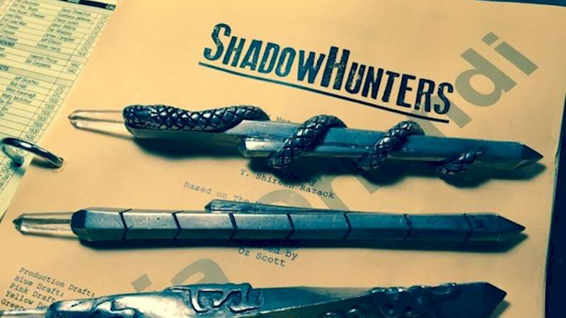 Shadowhunters - A FIRST LOOK at the Shadowhunters Steles - Thumb