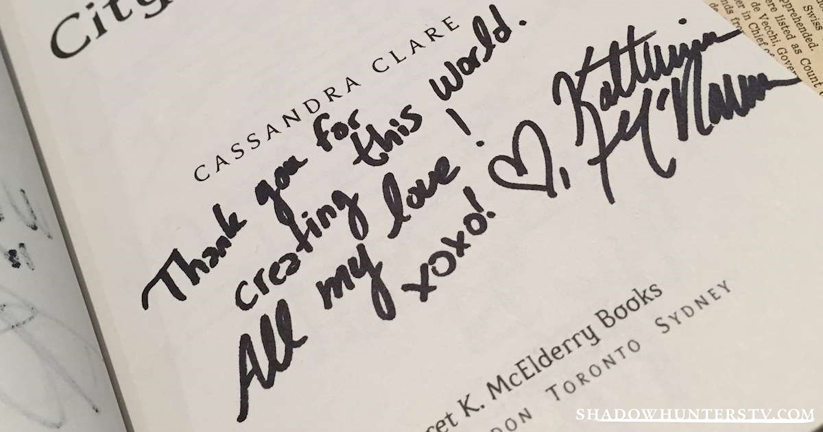 Shadowhunters - [EXCLUSIVE] Take a Look at The Signatures of the Cast! - 1004