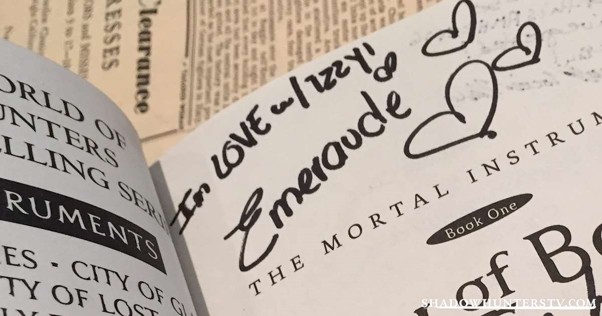 Shadowhunters - [EXCLUSIVE] Take a Look at The Signatures of the Cast! - 1001