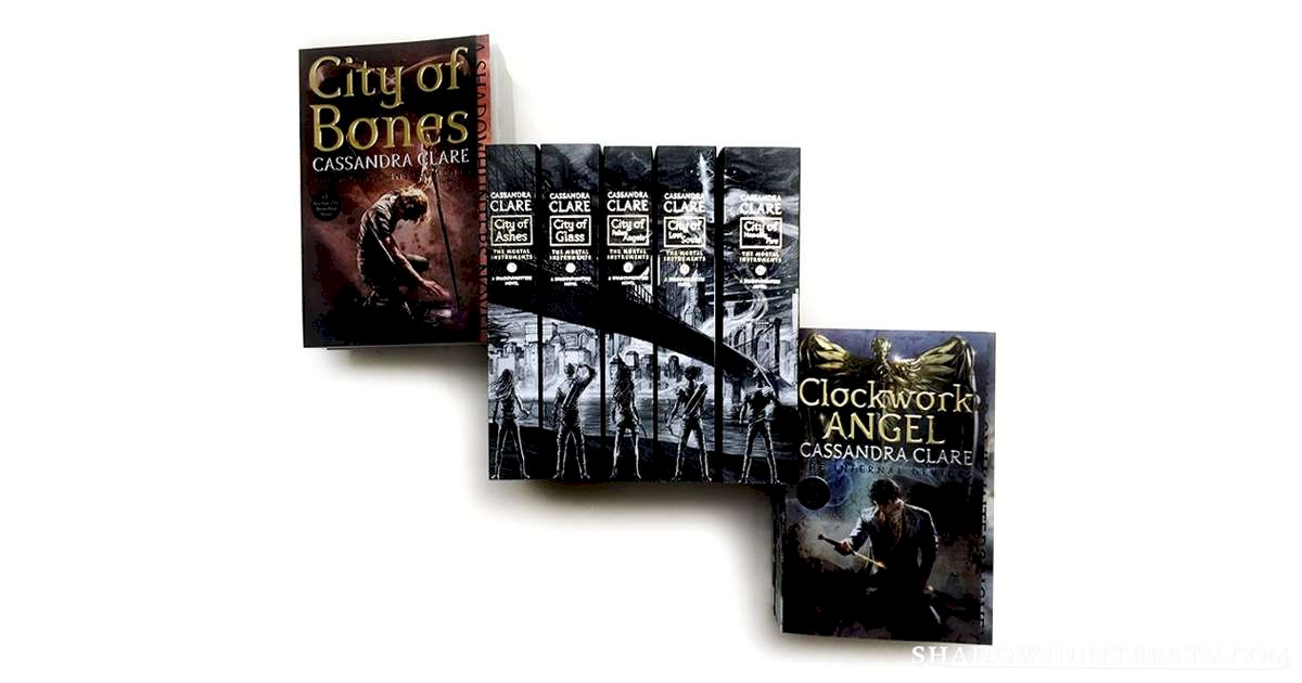 Shadowhunters - BRAND NEW Book Covers For The Mortal Instruments  - 1002