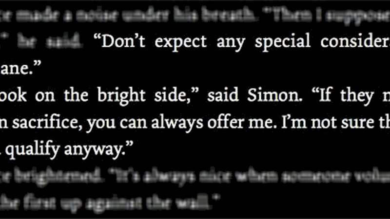 Shadowhunters - This Week's Shadowhunters Writer's Quote: Simon - Thumb