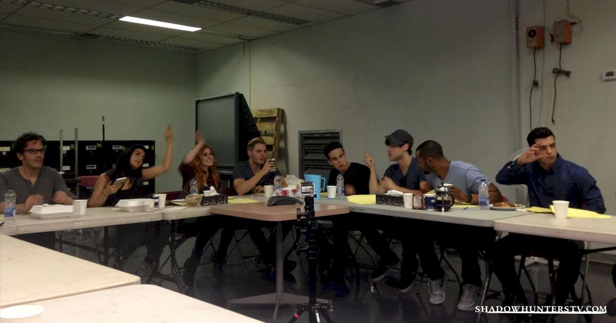 Shadowhunters - [EXCLUSIVE PHOTO] Inside The Most Secretive Room in Shadowhunters! - 1001