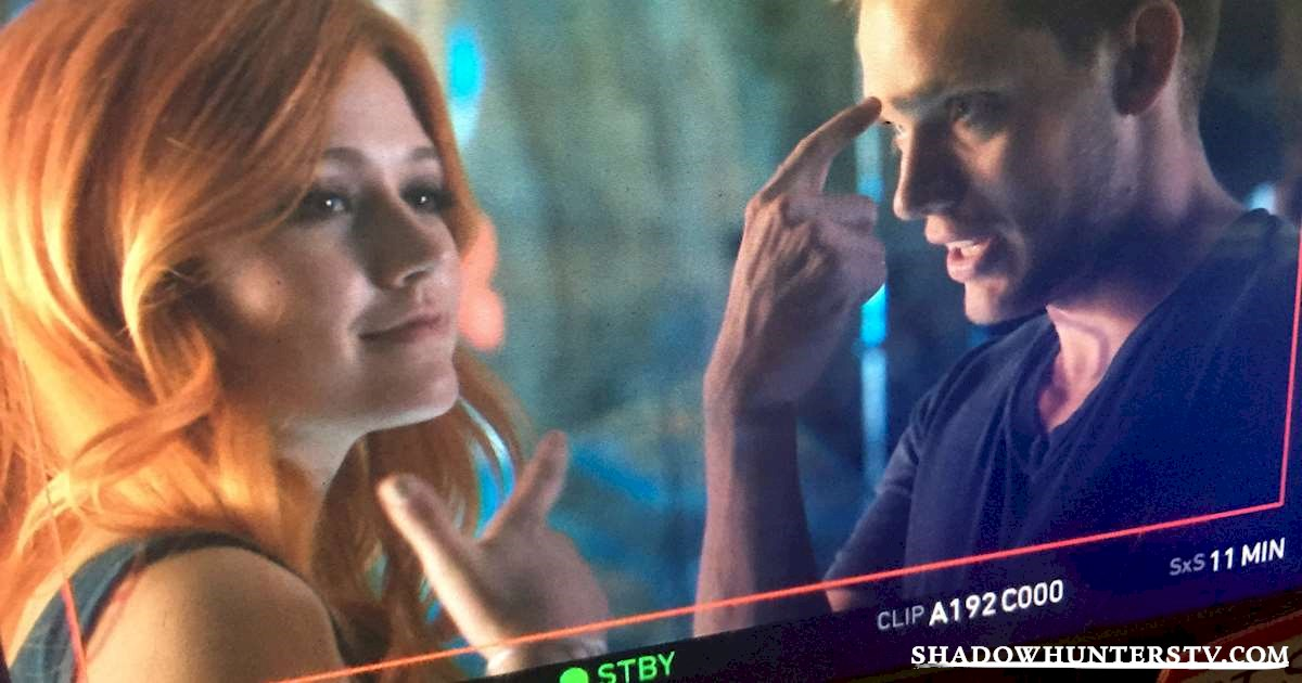 Shadowhunters - [EXCLUSIVE PHOTOS] Jace and Clary! - 1001