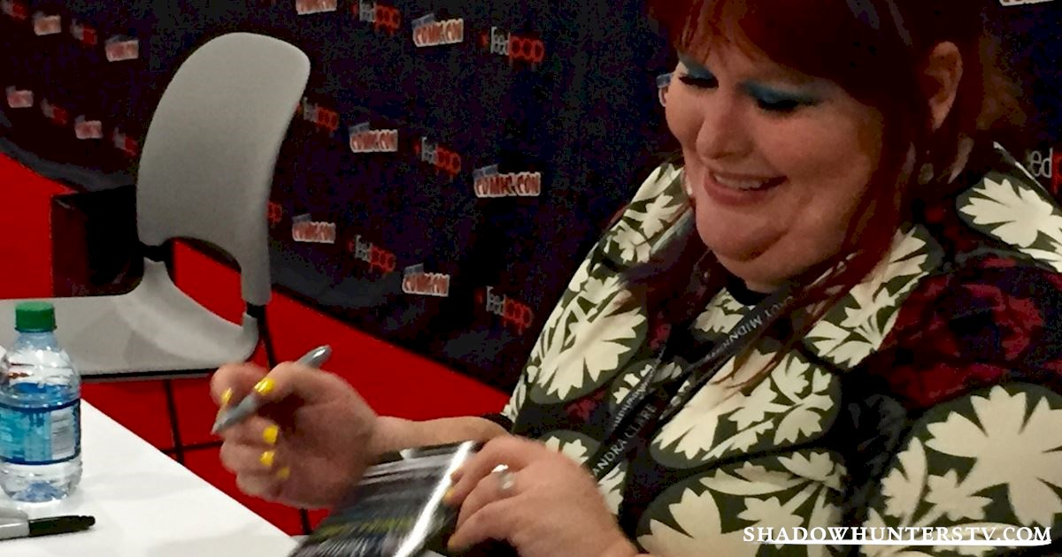 Shadowhunters - Cassandra Clare Q&A At New York Comic Con - 968
