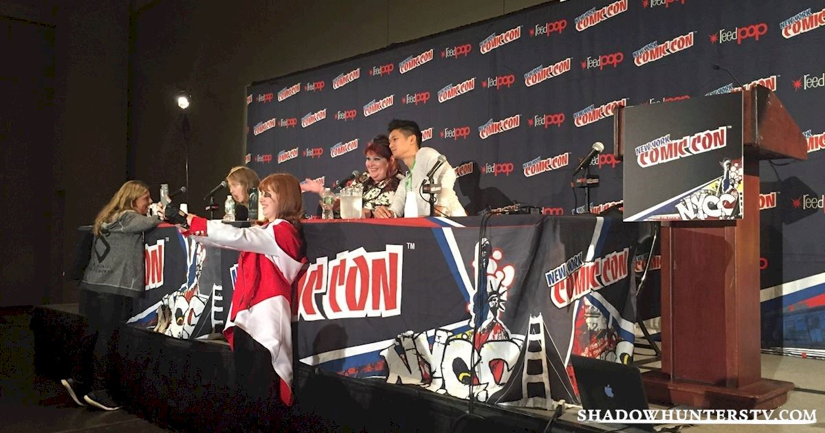 Shadowhunters - Friday Live Blog: Shadowhunters at New York Comic Con - 996