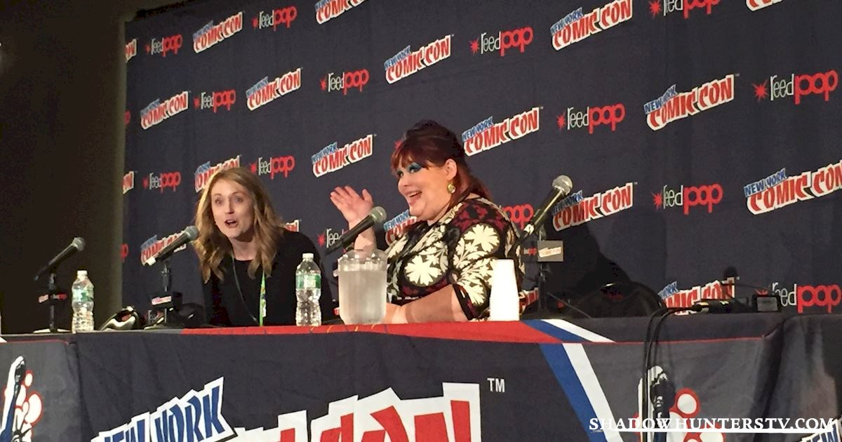 Shadowhunters - Cassandra Clare Q&A At New York Comic Con - 996