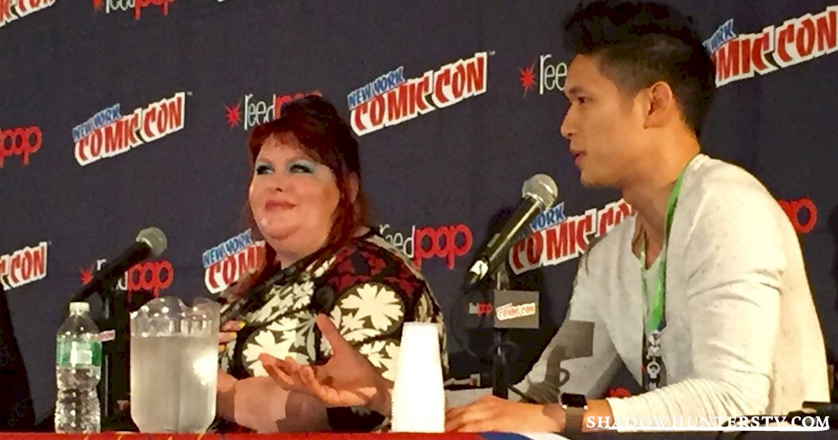 Shadowhunters - Cassandra Clare Q&A At New York Comic Con - 976