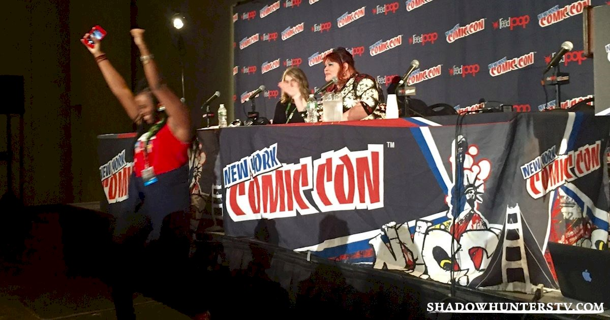 Shadowhunters - Cassandra Clare Q&A At New York Comic Con - 980
