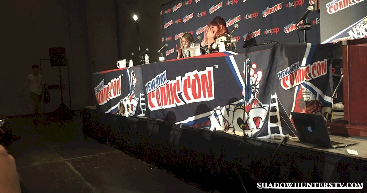 Shadowhunters - Cassandra Clare Q&A At New York Comic Con - 978