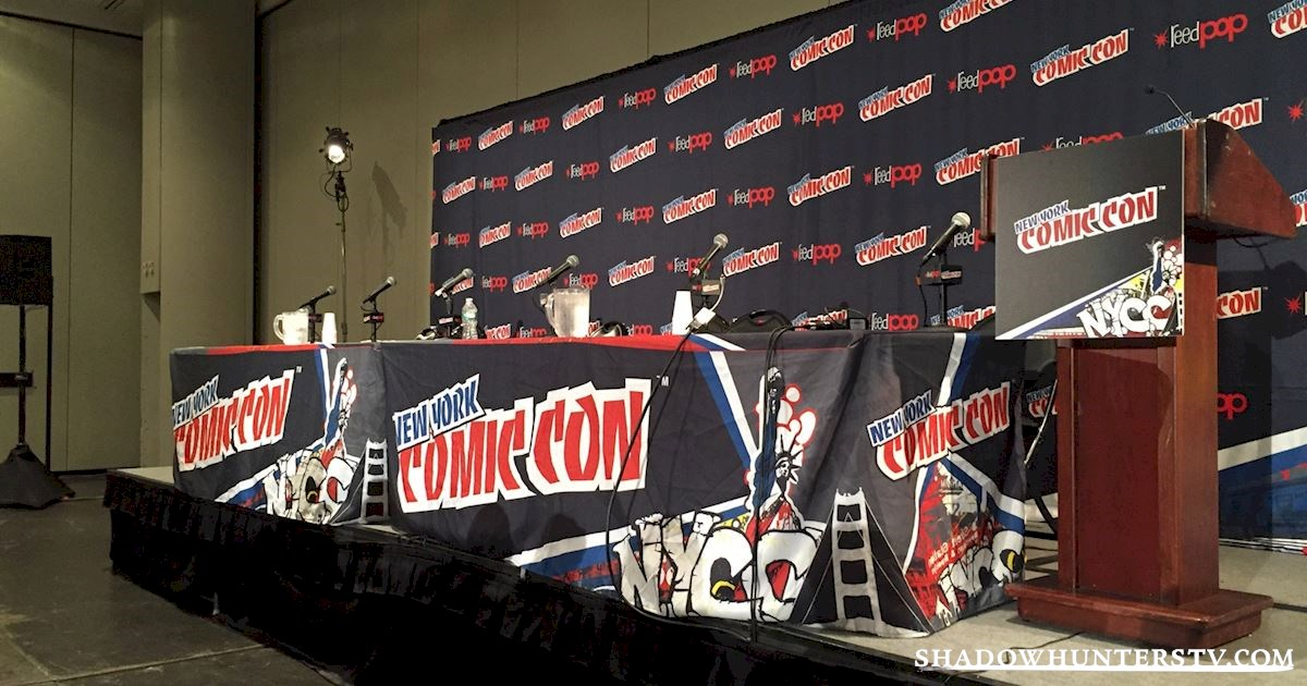 Shadowhunters - Cassandra Clare Q&A At New York Comic Con - 998
