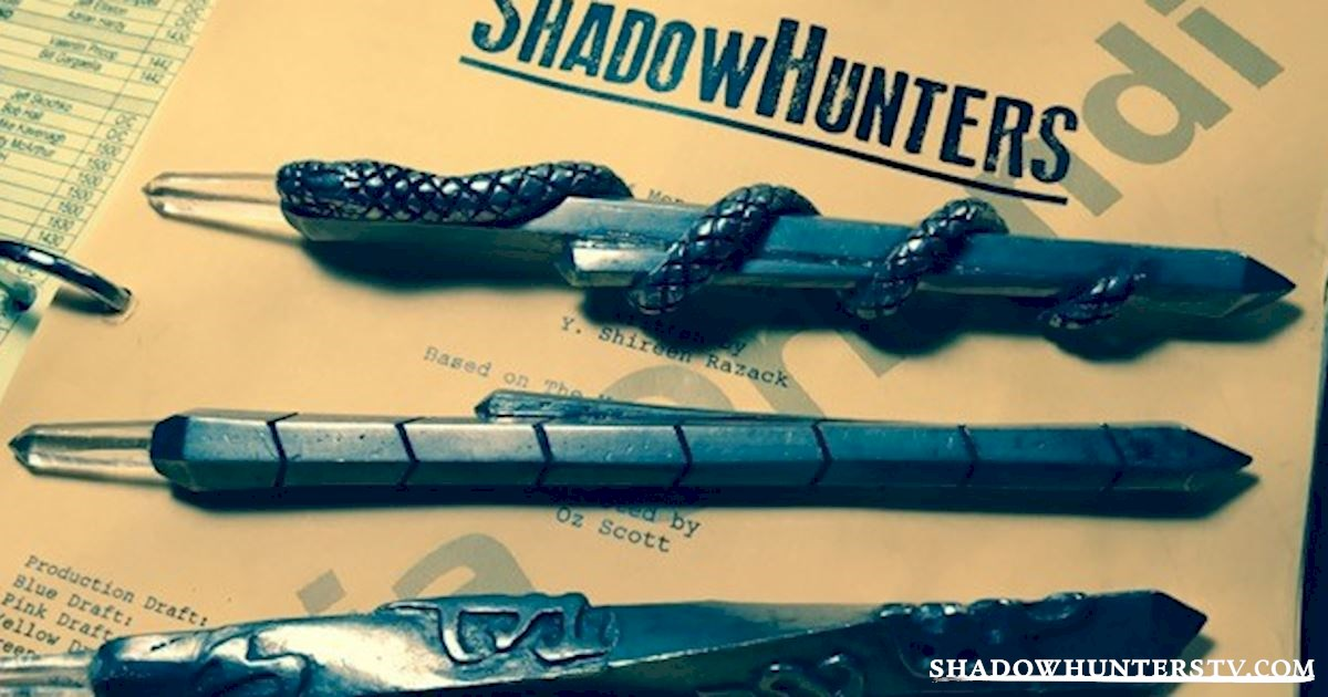 A FIRST LOOK at the Shadowhunters Steles - Shadowhunters ...