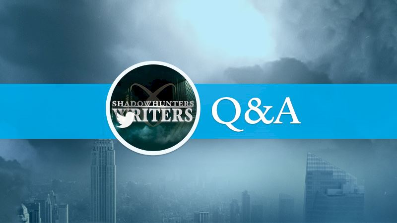 Shadowhunters - Exclusive Twitter Chat: The Shadowhunters Writing Team - Thumb