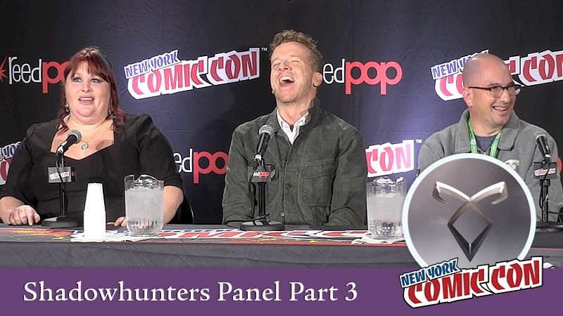 Shadowhunters - [EXCLUSIVE VIDEOS] Part 3: Shadowhunters Comic Con Panel - Thumb