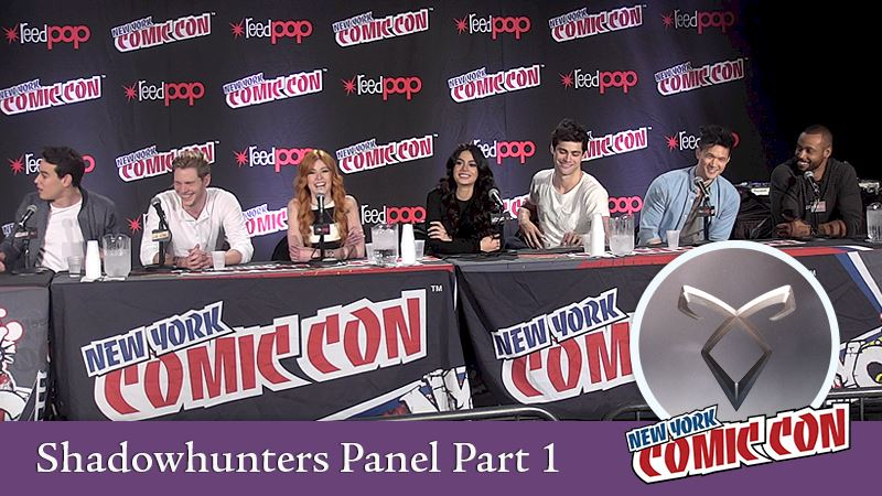 Shadowhunters - [EXCLUSIVE VIDEOS] Shadowhunters Comic Con Panel: Part 1  - Thumb