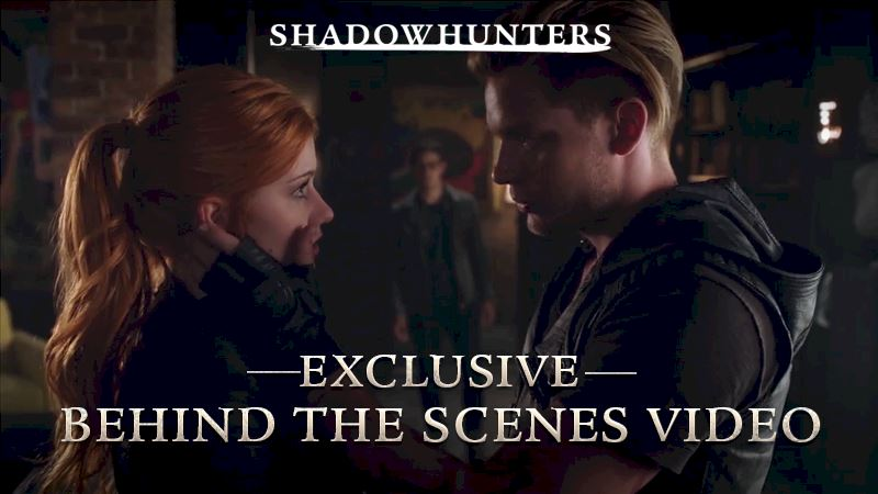 Shadowhunters - [EXCLUSIVE VIDEO] Behind The Scenes with Shadowhunters - Thumb