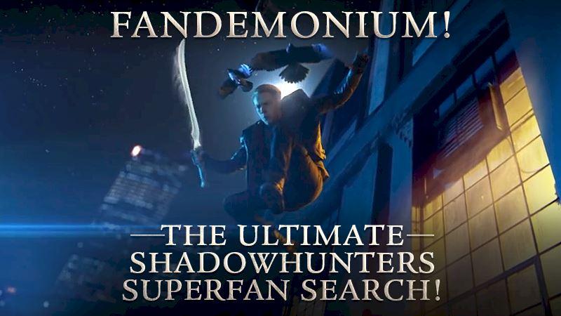 Shadowhunters - The Ultimate Shadowhunters SUPERFAN Search Has Begun! - Thumb