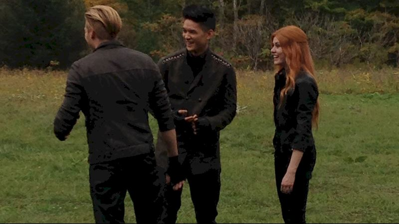 Shadowhunters - Caption This Pic: The Great Outdoors - Thumb