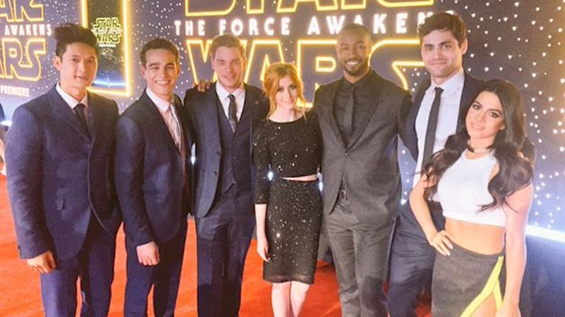Shadowhunters - Shadowhunters Spotted At the Star Wars Premiere! - Thumb