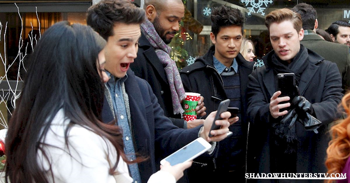 Shadowhunters - Caption This: Post- Christmas Special - 1002
