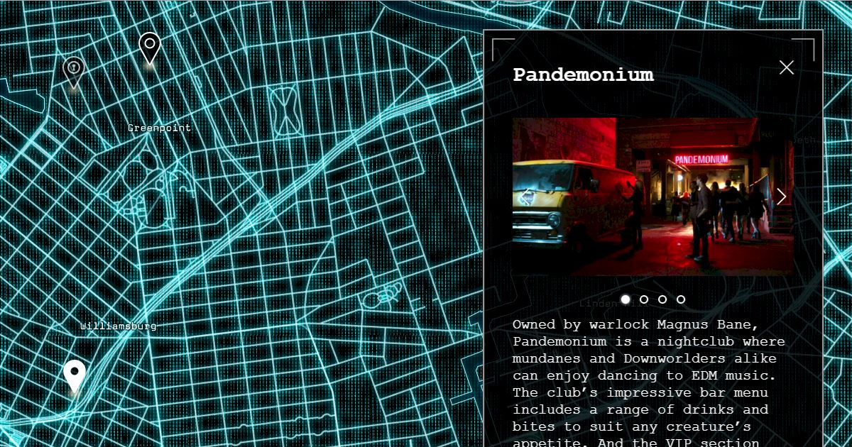 Shadowhunters - Exciting New Launch: Map The Shadows! - 1004