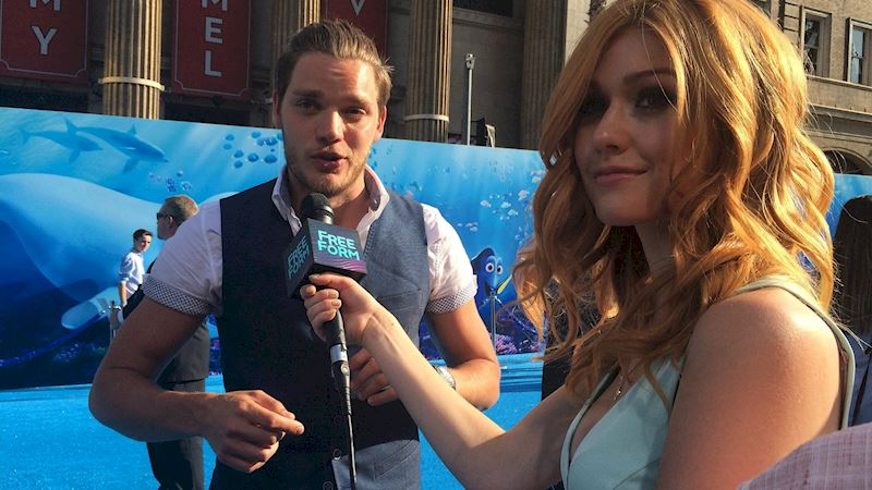 "Shadowhunters - Katherine McNamara Was Working The ""Blue"" Carpet At The Finding Dory Premiere! - Thumb"