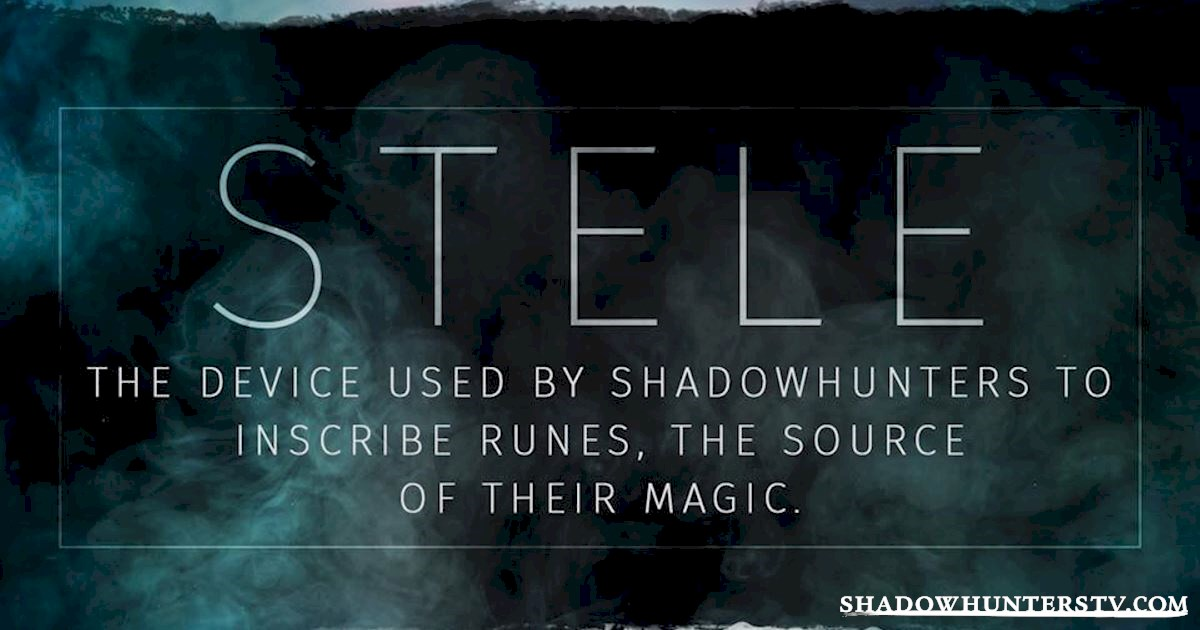 Shadowhunters - The Shadowhunters Jargon Buster - 1011