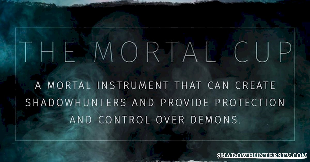 Shadowhunters - The Shadowhunters Jargon Buster - 1009
