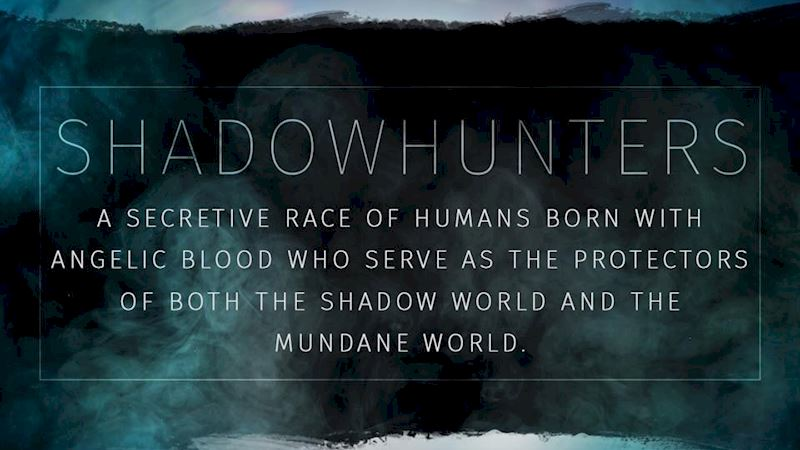 Shadowhunters - The Shadowhunters Jargon Buster - Thumb