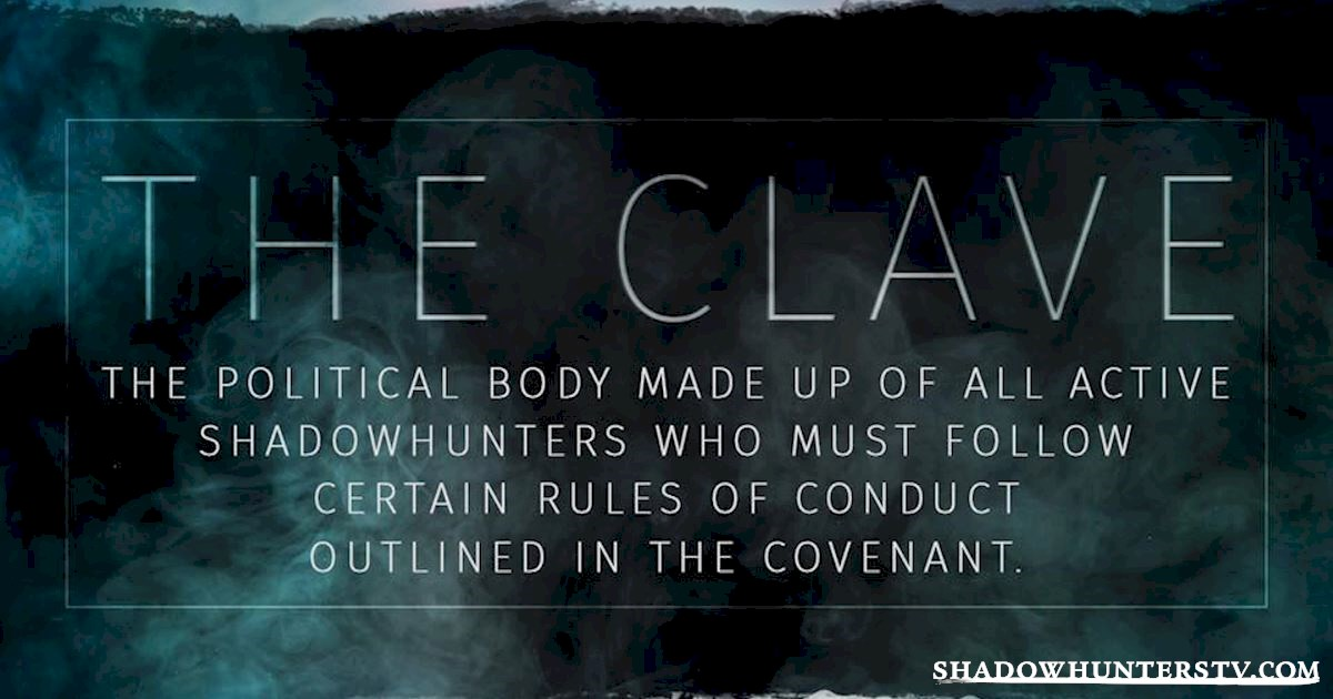 Shadowhunters - The Shadowhunters Jargon Buster - 1003