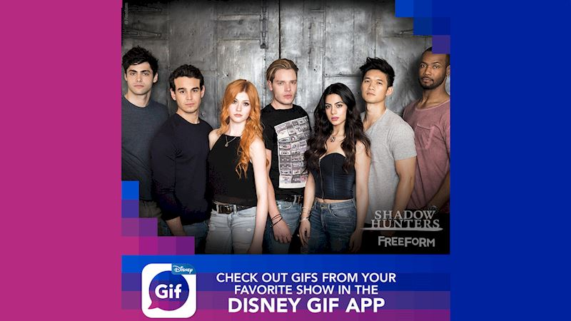 Shadowhunters - Express Yourself In True Shadowhunters Style! Use The New Disney GIF App! - Thumb