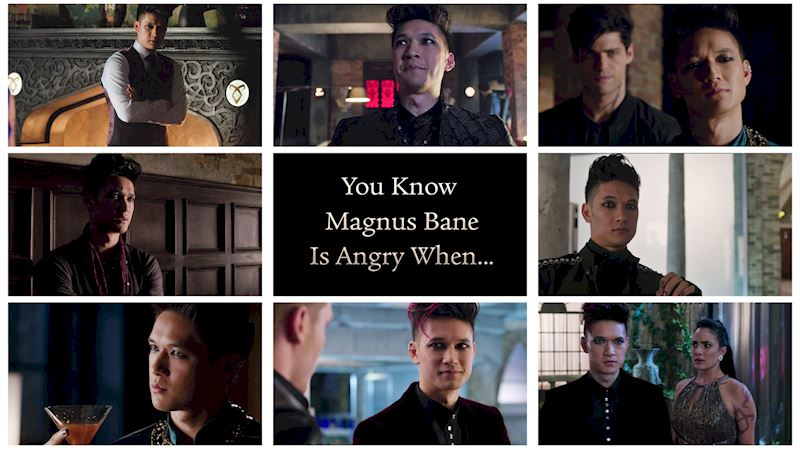 Shadowhunters - You Know Magnus Bane Is Angry When... - Thumb