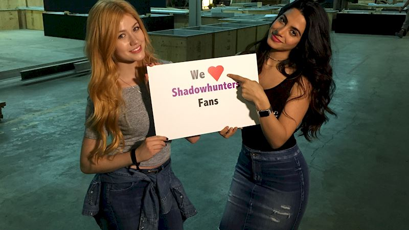 Shadowhunters - Today: Live Periscope Chat With Katherine And Emeraude!  - Thumb