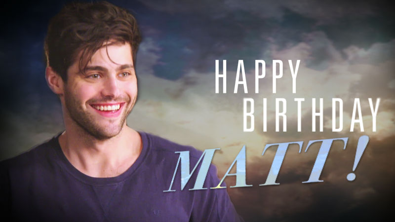 Shadowhunters - Happy Birthday Matthew Daddario! Here Are Our Top 17 Matt Moments! - Thumb