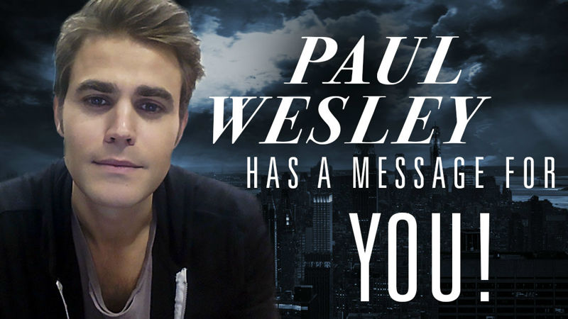 Shadowhunters - Exciting News! TVD's Paul Wesley Will Be Directing An Episode Of Shadowhunters! - Thumb