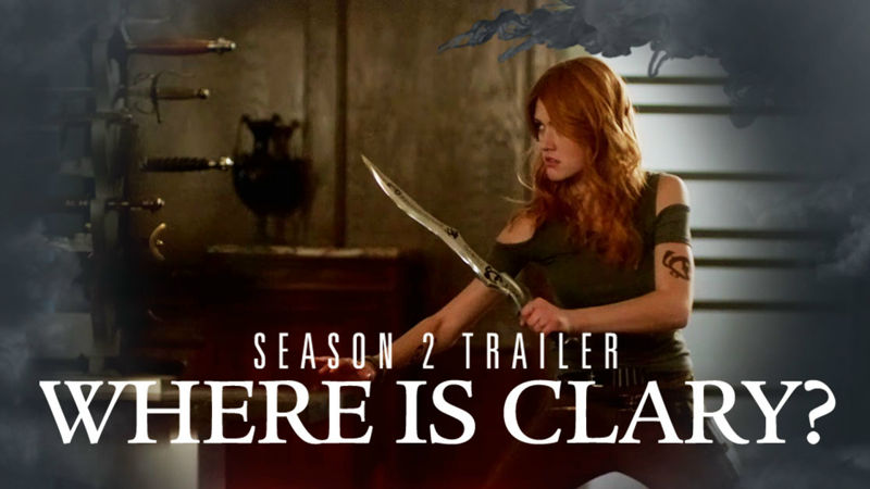 Shadowhunters - Season 2 Update: Clary Has Gone Rogue In This Brand New Trailer! - Thumb