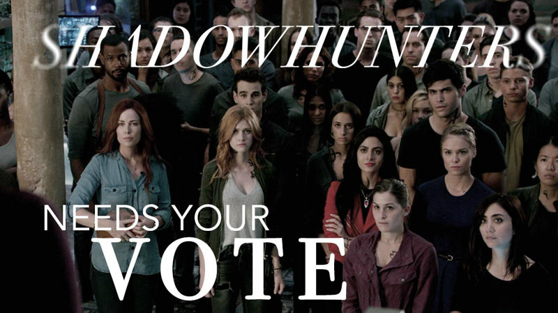 Shadowhunters - Shadowhunters Fandom We Need You To Go Vote In The People's Choice Awards! - Thumb