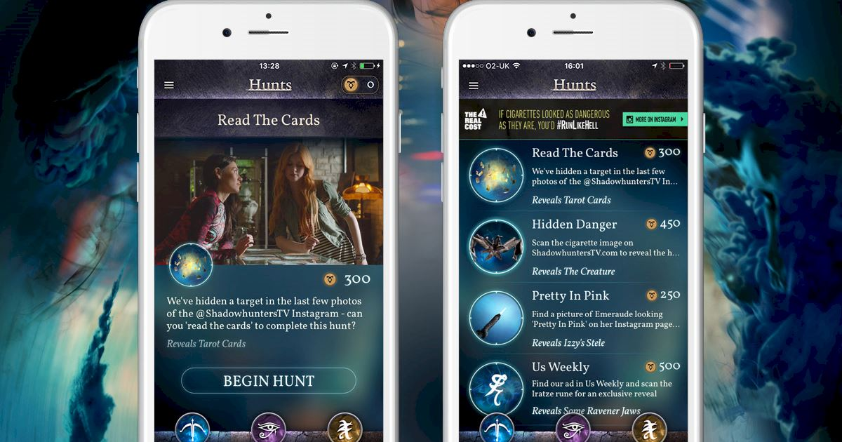 "Shadowhunters - Join The Hunt: New Hunt Released ""Read The Cards""! - 1004"
