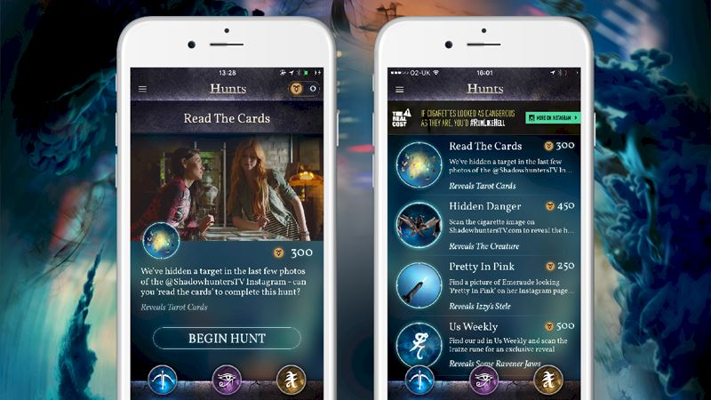 "Shadowhunters - Join The Hunt: New Hunt Released ""Read The Cards""! - Thumb"