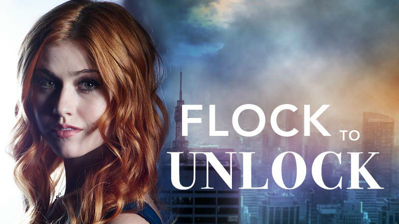 Shadowhunters - Unlock The Official Clary Poster For Season 2 By Tweeting Us With This Hashtag! - Thumb