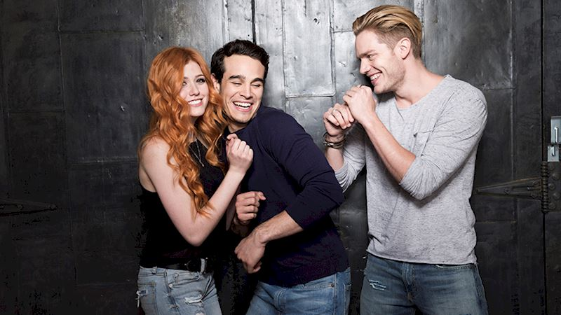 Shadowhunters - Caption This: Domberto Play Fight! - Thumb