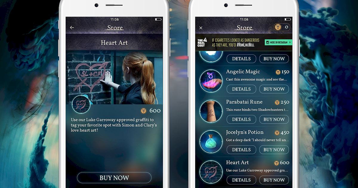 "Shadowhunters - Join The Hunt: New Store Item ""Heart Art""! - 1002"