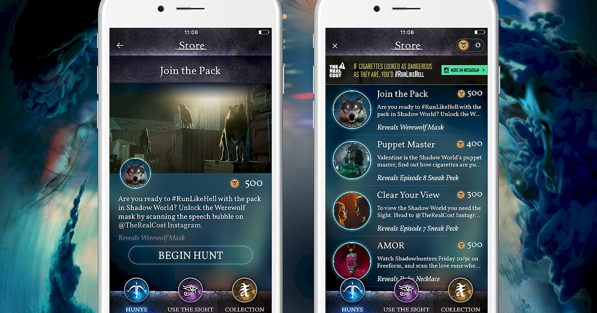 "Shadowhunters - Join The Hunt: New Hunt Released ""Join the Pack""! - 1003"