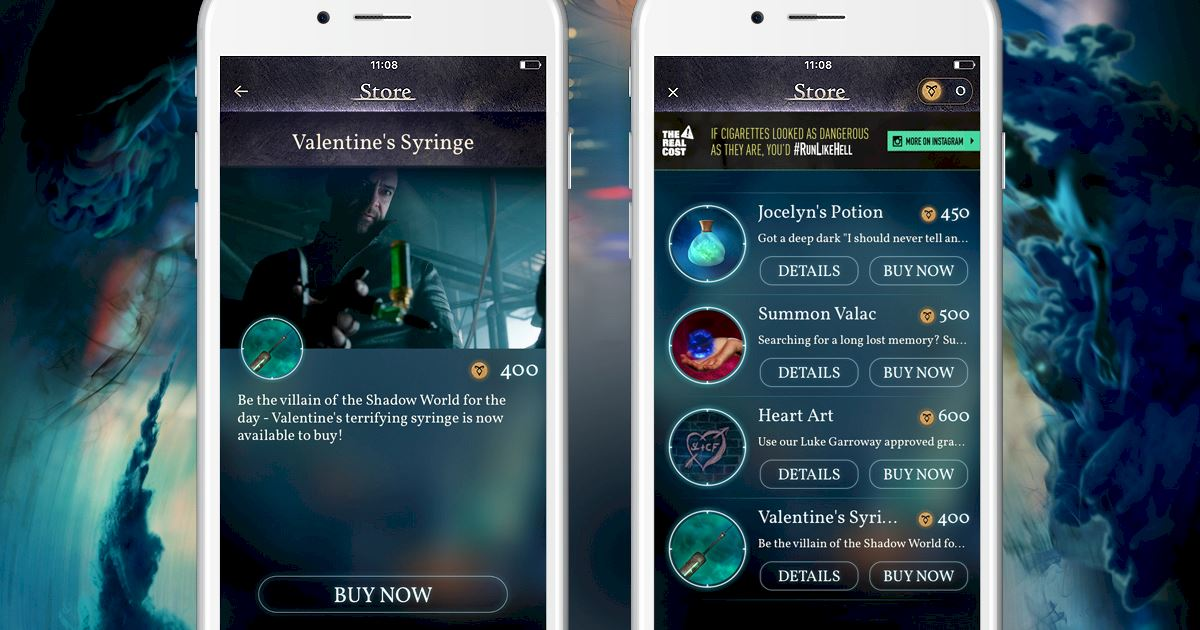 "Shadowhunters - [Join The Hunt] New Store Item ""Valentine's Syringe""! - 1002"