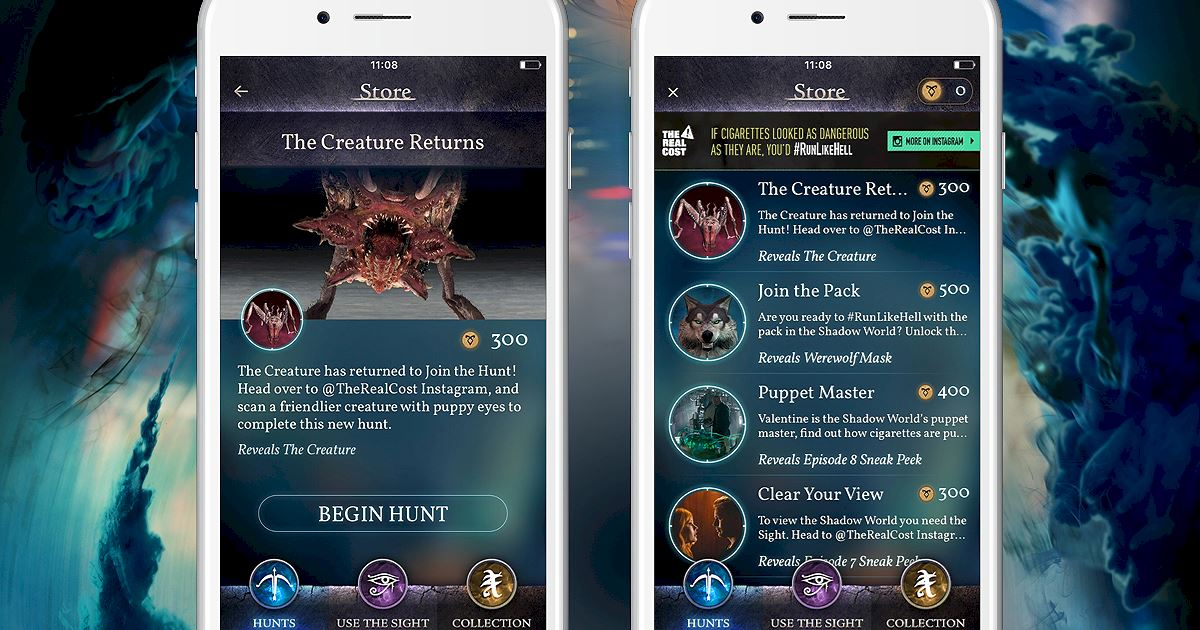 "Shadowhunters - Join The Hunt: New Hunt Released ""The Creature Returns""! - 1002"