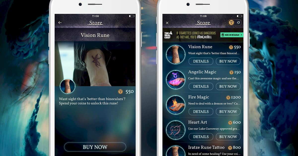 """Shadowhunters - [Join The Hunt] New Store Item """"Vision Rune""""! - 1002"""