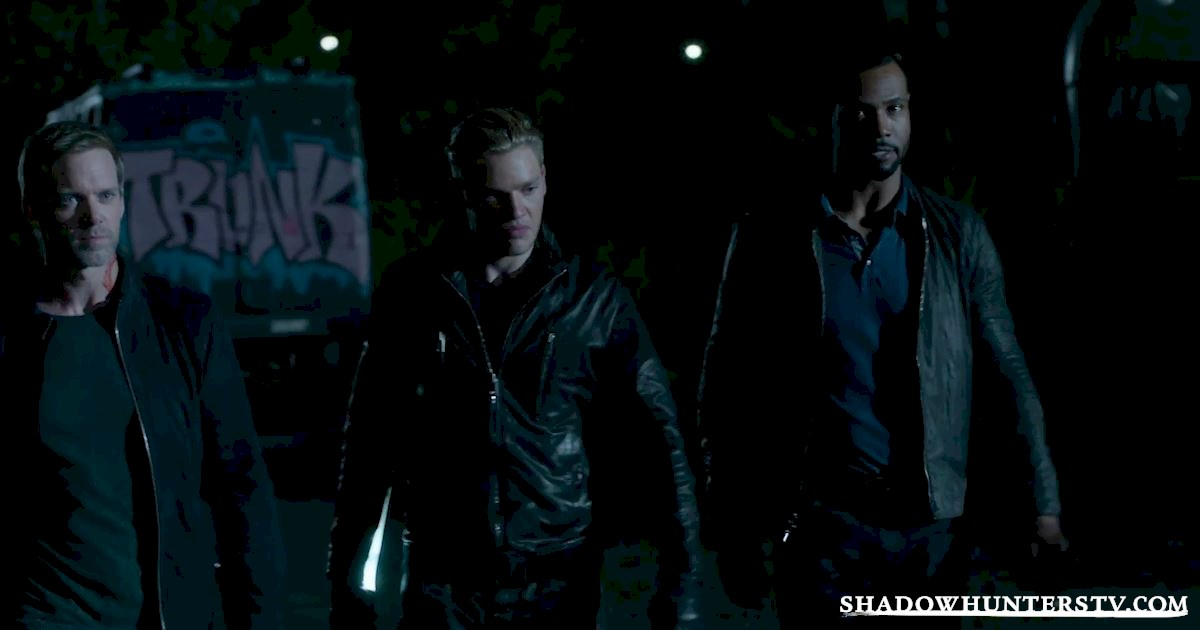 Shadowhunters - Episode 11 Sneak Peek: Our Shadowhunters Are Hot On Valentine's Heels! - 1002