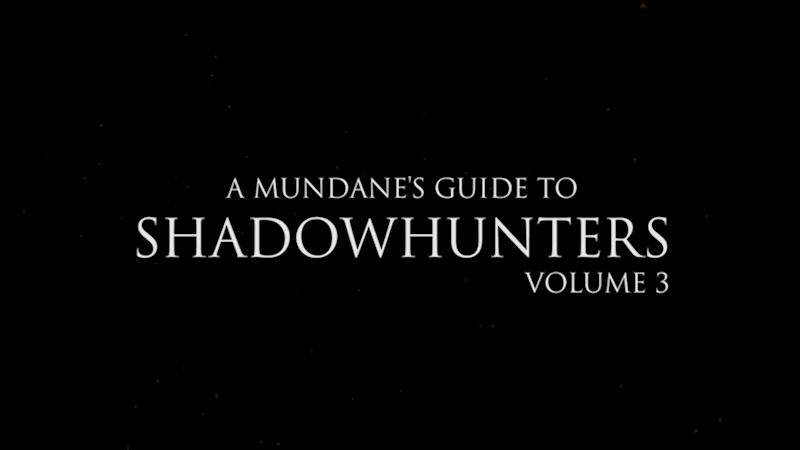 Shadowhunters - More Shadowhunters Terms You Must Know: Volume 3! - Thumb